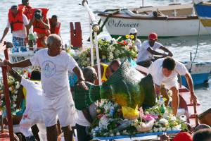 Tudo prota para homenagear a Rainha das Águas Foto: Ivan Erick Baldivieso/SECOM
