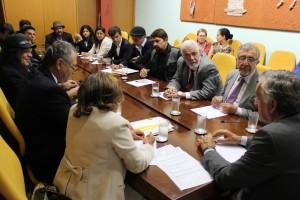 Reunião com forrozeiros, deputados e senadores da região        Foto: ASCOM
