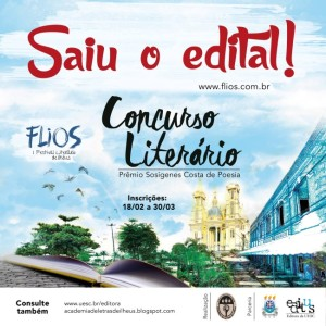 Saiu o Edital - Concurso literário (1)