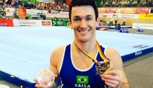 Diego é ouro  Foto: instagran