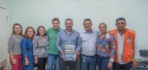 Prefeito de Itabuna Claudevane Leite recebeu Comissão  Técnica do PLHIS - Foto Lucas França