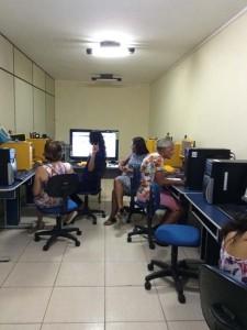 Professores da rede municipal participam de curso Excel no NTM - Foto Divulgação 1