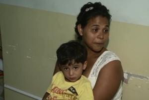 Dona Rejane passou a receber o benefício após a auditoria. Foto Reprodução.globo