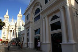 Teatro Municipal passa por ultimos ajustes para ser devolvido à população na próxima terça. Foto Roberto Santos Secom Ilheus