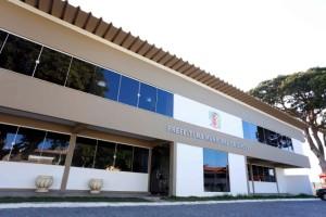 Fachada do Centro Administrativo de Ilhéus. Foto Alfredo Filho Secom Ilheus