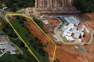 Em destaque, área que resultou no decreto - Foto José Nazal