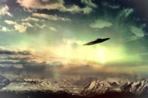 ilustração disco voador