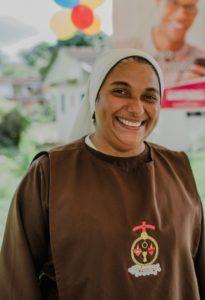 Dia de Cooperar em Ilheus - Madre Eveline, responsável pelo Instituto
