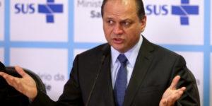 Brasília - O ministro da Saúde, Ricardo Barros, concede sua primeira entrevista coletiva à imprensa sobre assuntos relacionados à pasta (Wilson Dias/Agência Brasil)