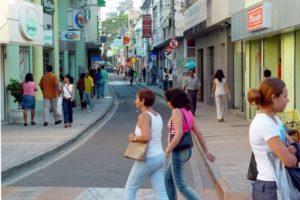 Rua Paulino Vieira Foto: Waldyr Gomes