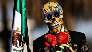 México homenageia os mortos com festa