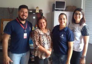 Jeferson Evangelista, Luzinete Miranda, Lariceia Correia e Narjara Morais. Foto: divulgação