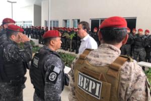 Paralisação de policiais militares no CE Foto: Camilo Santana