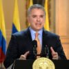Presidente da Colômbia, Iván Duque 17/03/2020 Presidência da Colômbia/Divulgação via REUTERS