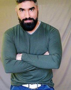O ator Frank Araújo. Foto: divulgação