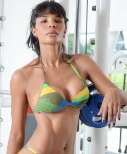 Atriz Suyane Moreira, inspiração para a nova Mulher Maravilha. Foto: divulgação.